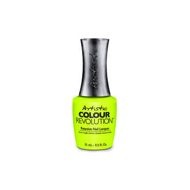 Artistic Colour Revolution Crave the Rave Collection Reactive Nail Lacquer Electric Daisy Girl 15ml