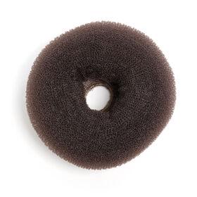 Sibel Hairbun Round 11 Cm Brown 2pack