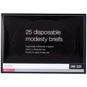 Salon Services Disposable Briefs Pack of 25