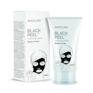 BeautyPro Black Diamond Charcoal Peel Off Mask Tube 90ml