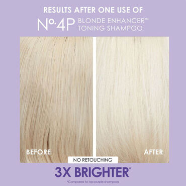 Olaplex No.4P Blonde Enhancer Toning Shampoo 250ml