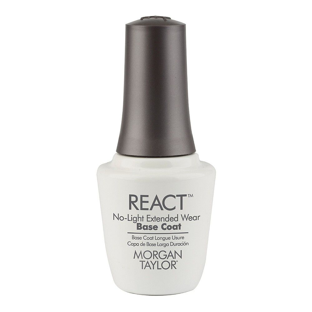 Morgan Taylor React No Light Base Coat 15ml | Salon Services
