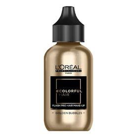 L'Oréal Professionnel #Colorfulhair Flash Pro Hair Make-Up Golden Bubbles 60ml