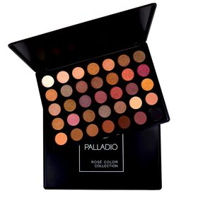 Palladio 36 Color Eyeshadow Palette  Rose Collection