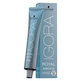 Schwarzkopf Professional Igora Royal High Lift Permanent Hair Colour - 10-14 Ultra Blonde Cendre Beige 60ml