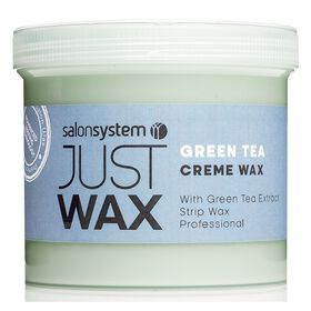 Just Wax Green Tea Crème Wax 450g