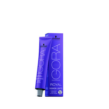 Schwarzkopf Professional Igora Fashion Lights Permanent Hair Colour - Beige Violet L-49 60ml
