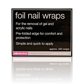 Salon Services Foil Nail Wraps Pack of 400