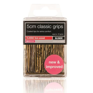 Salon Services Two Waved Grips Blonde Pack of 50