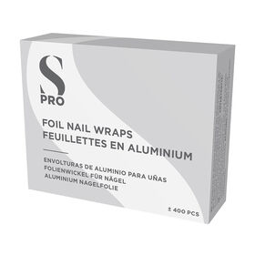 S-PRO Foil Nail Wraps, Pack of 400
