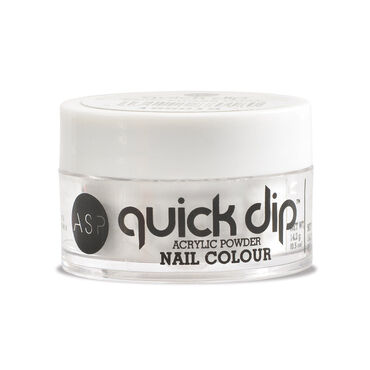 ASP Quick Dip Acrylic Dipping Powder Nail Colour - Silver Leaf 14.2g
