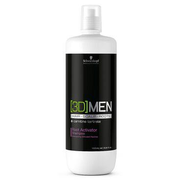 Schwarzkopf Professional 3D Men Root Activator Shampoo 1 Litre