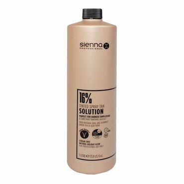 Sienna X Professional Tanning Solution 16% 1 Litre