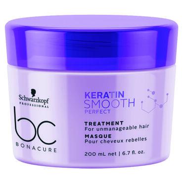 Schwarzkopf Professional Bonacure Keratin Perfect Smooth Hair Treatment 200ml