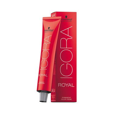 Schwarzkopf Professional Igora Royal Permanent Hair Colour - 6-12 Cendre Plus Dark Blonde 60ml