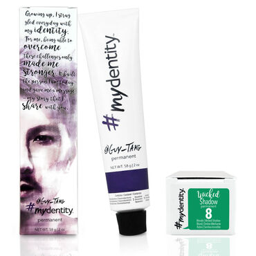 #mydentity Permanent Hair Colour Wicked Shadow 8 58g