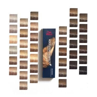 Wella Professionals Koleston Perfect Permanent Hair Colour 6/34 Dark Blonde Golden Red Rich Naturals 60ml
