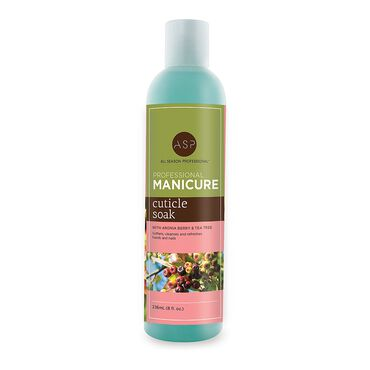 ASP Naturals Manicure Aronia Berry and Tea Tree Cuticle Soak 236ml