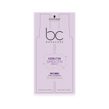 Schwarzkopf Professional Bonacure, BC KERA SMOOTH PERFECT, Duo Layering, 1 pair