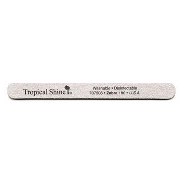 Tropical Shine Zebra Nail File (Medium 180)