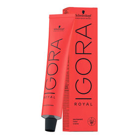 Schwarzkopf Professional Igora Royal Permanent Hair Colour - 0-77 Copper Concentrate 60ml