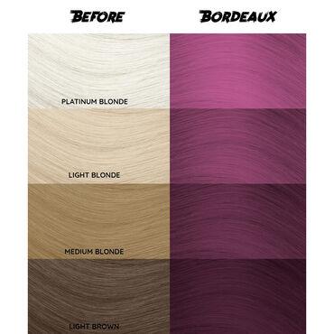 Crazy Color Semi Permanent Hair Colour Cream - Bordeaux 100ml