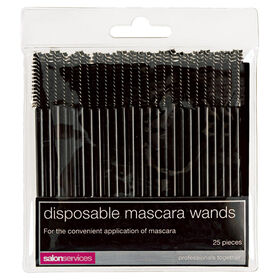 Salon Services Disposable Mascara Brushes Pack of 25
