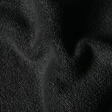 Salon Services Couch Cover With Hole Black