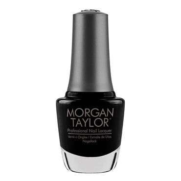 Morgan Taylor Nail Lacquer - Black Shadow 15ml