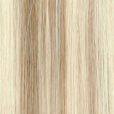 Beauty Works Celebrity Choice Slim Line Tape Hair Extensions 18 Inch - 613/18 Champagne Blonde 48g