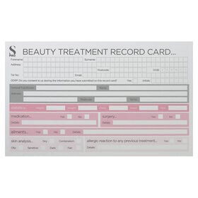S-PRO Beauty Record Cards 1-pack