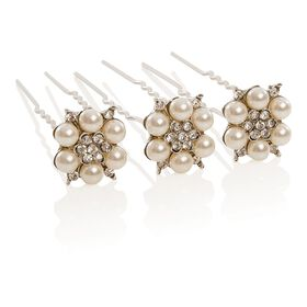 Wildest Dreams Pearl and Crystal Hair Pin