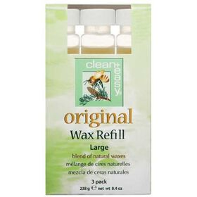 Clean & Easy Original Wax Refill Large Pack of Three