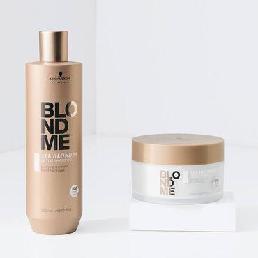 Schwarzkopf Professional BlondMe All Blondes Detox Mask 200ml