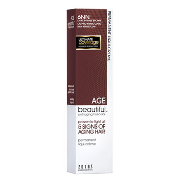 AGEbeautiful Permanent Hair Colour - 6NN Light Intense Brown 60ml