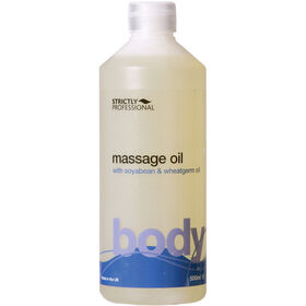 Strictly Professional Body Massage Oil 500ml