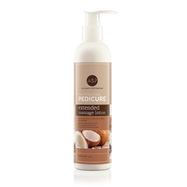 ASP Pedicure Extended Massage Lotion Coconut 236ml