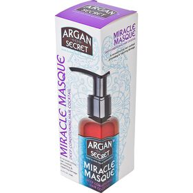Argan Secret Miracle Masque Deep Conditioning Treatment 125ml