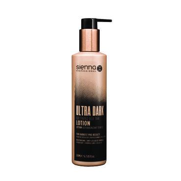 Sienna X Ultra Dark Q10 Tinted Self Tan Lotion 200ml