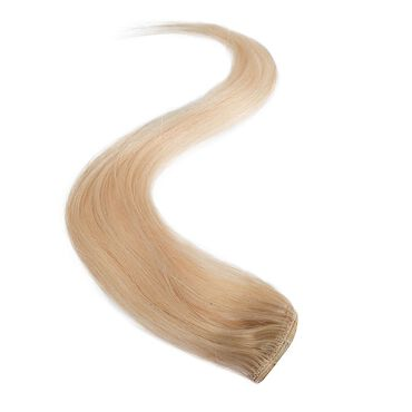 Wildest Dreams Clip In Single Weft Human Hair Extension 18 Inch - 60 Blondest Blonde