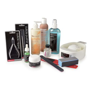 Salon Services Manicure and Pedicure Kit