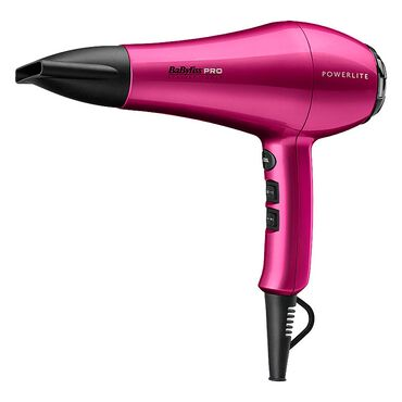 BaByliss PRO Powerlite Hair Dryer - Pink