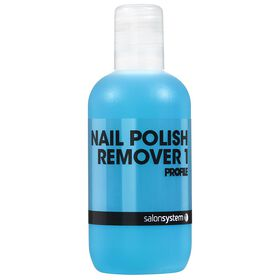Salon System Polish Remover With Acetone 125ml