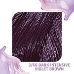 Wella Professionals Colour Fresh Semi Permanent Hair Colour - 3/66 Dark Intensive Violet Brown 75ml