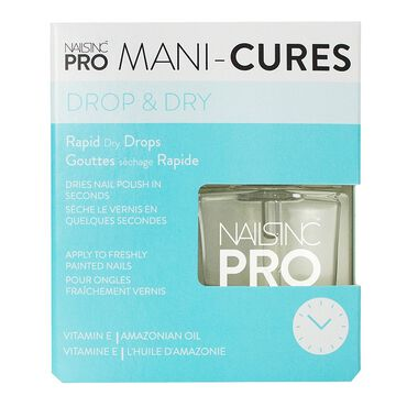 Nails Inc Pro Mani-Cures Drop & Go 8ml | Nail Polish Quick Dry ...