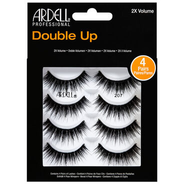 Ardell Double Up Strip Lashes 207, Pack of 4