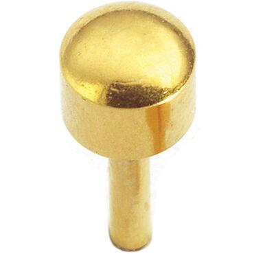 Caflon Regular Bezel Gold April Piercing Stud 12 pair pack