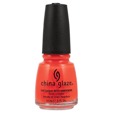 China Glaze Nail Lacquer - Orange Knockout 14ml