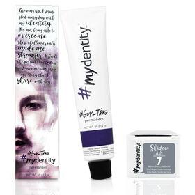 #mydentity Permanent Hair Colour Shadow Ash 7 58g