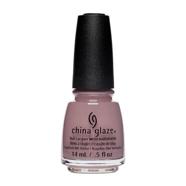 China Glaze Hard-wearing, Chip-Resistant, Oil-Based Nail Lacquer - Head To Taupe 14ml